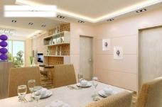 厨房餐厅vr模型带材质灯光图片