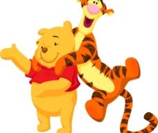 维尼熊与跳跳虎图片