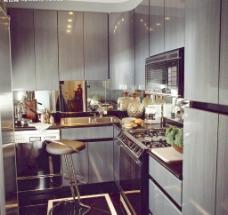 欧式橱房设计图片