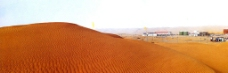 塔克拉玛干沙漠油田图片