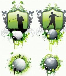 高爾夫與足球圖片