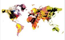 缤纷色彩的世界板块图片