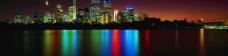 海滨城市夜色图片