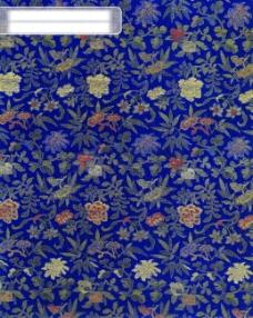 纹理 中华刺绣 绣花 布艺 民间艺术 PSD分层素材源文件 中国传统元素整合图库