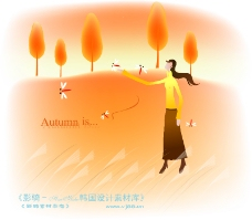 天使插畫0032