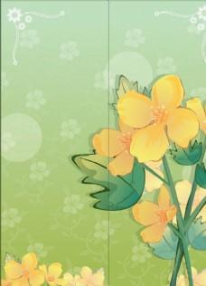 矢量韩国鲜花