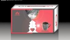 咖啡杯包装盒图片